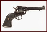 RUGER NEW MODEL SINGLE SIX .22 LR USED GUN INV 213531