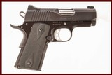 KIMBER ULTRA TLE II 45 ACP USED GUN INV 214397