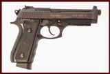 TAURUS PT 101 P 40 S&W USED GUN INV 215425