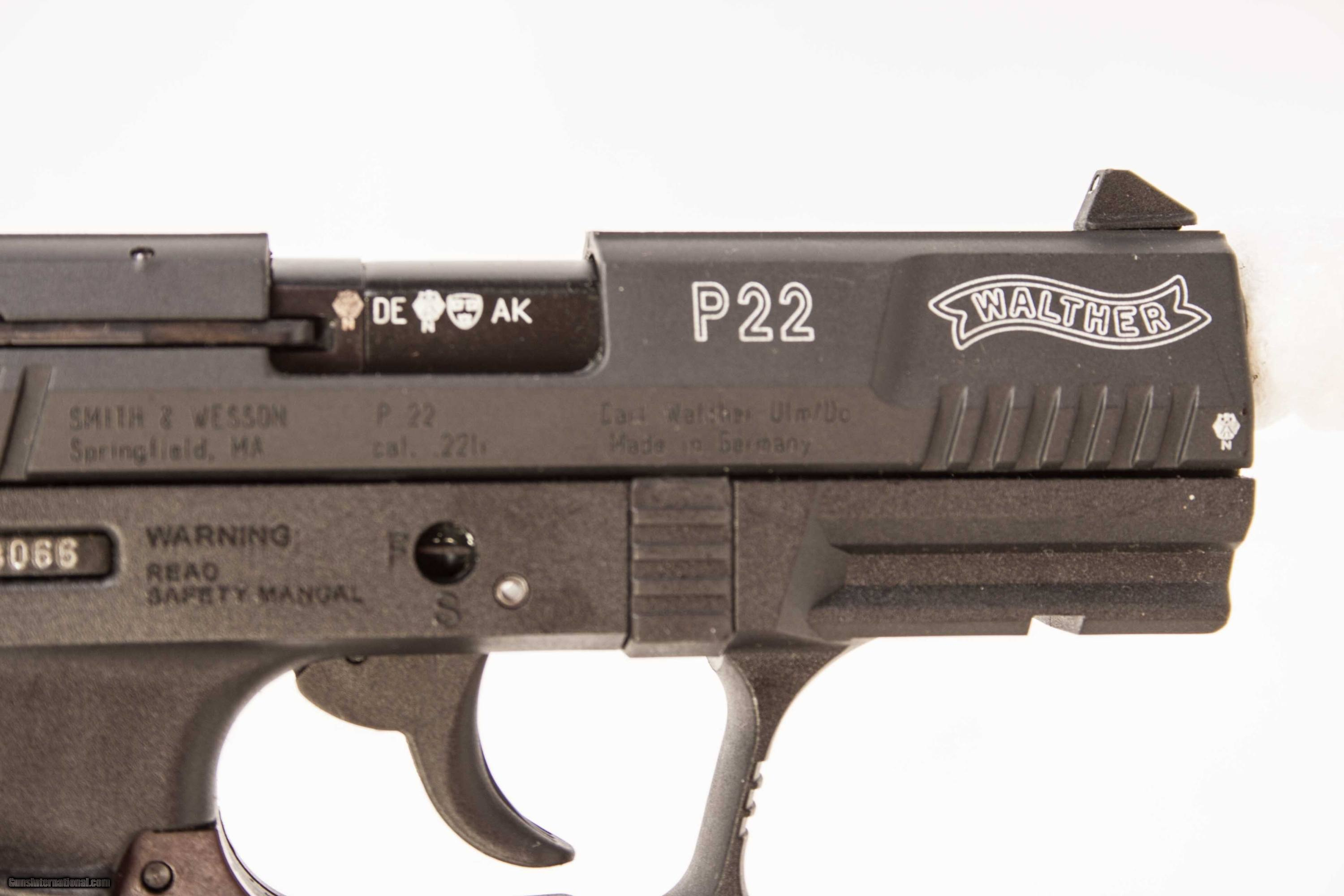 WALTHER P22 22 LR USED GUN INV 215426