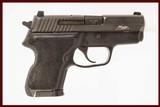 SIG SAUER P224 SAS 40 S&W USED GUN INV 215630