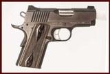 KIMBER ECLIPSE ULTRA II 45 ACP USED GUN INV 215671