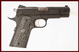 RUGER SR1911 45 ACP USED GUN INV 216092