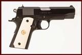 COLT COMMANDER 1911 SERIES 80 45 ACP USED GUN INV 216328
