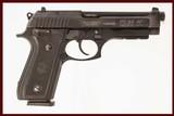 TAURUS PT 92AF 9MM USED GUN INV 216430