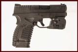 SPRINGFIELD ARMORY XDS 45 ACP USED GUN INV 216421