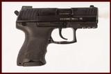 HK P30SK 9MM USED GUN INV 215015