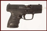 WALTHER PPS 9MM USED GUN INV 216617