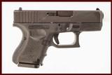GLOCK 26 GEN 4 9MM USED GUN INV 217178
