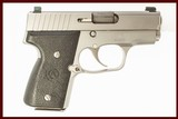 KAHR MK9 SS 9MM USED GUN INV 217413