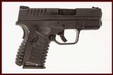 SPRINGFIELD ARMORY XDS 45 ACP USED GUN INV 217692