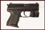 HK P2000SK 40 S&W USED GUN INV 217953