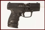 WALTHER PPS 9MM USED GUN INV 218314