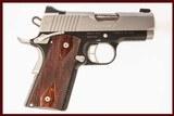 KIMBER ULTRA CDP II 1911 45 ACP USED GUN INV 214222