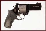 TAURUS 444 ULTRA-LITE TITANIUM 44 MAG USED GUN INV 216666