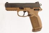 FNH FNX-45 FDE 45 ACP USED GUN INV 219194 - 5 of 5