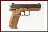 FNH FNX-45 FDE 45 ACP USED GUN INV 219194 - 1 of 5