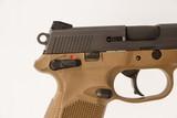 FNH FNX-45 FDE 45 ACP USED GUN INV 219194 - 2 of 5