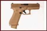GLOCK 19X 9MM USED GUN INV 219080