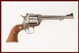 RUGER SINGLE SIX 22 22 LR USED GUN INV 218986