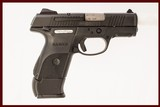 RUGER SR40C 40 S&W USED GUN INV 219108 - 1 of 5