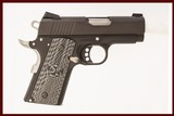 COLT 1911 DEFENDER 45 ACP USED GUN INV 219076