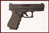 GLOCK 32 GEN 3 .357 SIGUSED GUN INV 219191 - 1 of 6