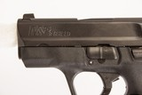 SMITH & WESSON M&P SHIELD 9 MM USED GUN INV 219192 - 4 of 6