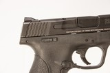 SMITH & WESSON M&P SHIELD 9 MM USED GUN INV 219192 - 2 of 6