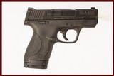SMITH & WESSON M&P SHIELD 9 MM USED GUN INV 219192 - 1 of 6