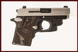SIG P938 9M USED GUN INV 219621