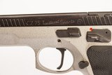 CZ 75 TACTICAL SPORTS 40 S&W USED GUN INV 219770 - 4 of 5