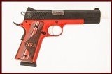 RUGER SR1911 NRA SPECIAL EDITION 45 ACP USED GUN INV 221630