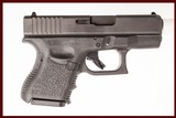 GLOCK 39 45 GAP USED GUN INV 221831
