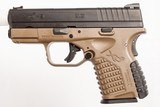 SPRINGFIELD ARMORY XDS 9 MM USED GUN INV 221859 - 5 of 5