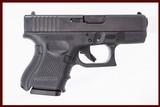 GLOCK 27 GEN 4 40 S&W USED GUN INV 221673 - 1 of 5