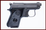 BERETTA 950 BS 25 ACP USED GUN INV 222282