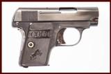 COLT 1908 25 ACP USED GUN INV 222818