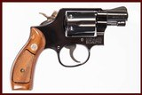 SMITH & WESSON 12-3 AIRWEIGHT 38 SPL USED GUN INV 222990