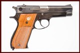 SMITH & WESSON 39-2 9 MM USED GUN INV 223046 - 1 of 6