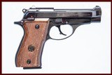 BERETTA 85BB 380 ACP USED GUN INV 222264 - 1 of 5