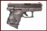 GLOCK 27 GEN 3 40 S&W USED GUN INV 224290