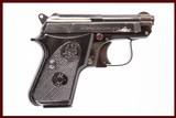 BERETTA 950 BS 25ACP USED GUN INV 223415 - 1 of 5