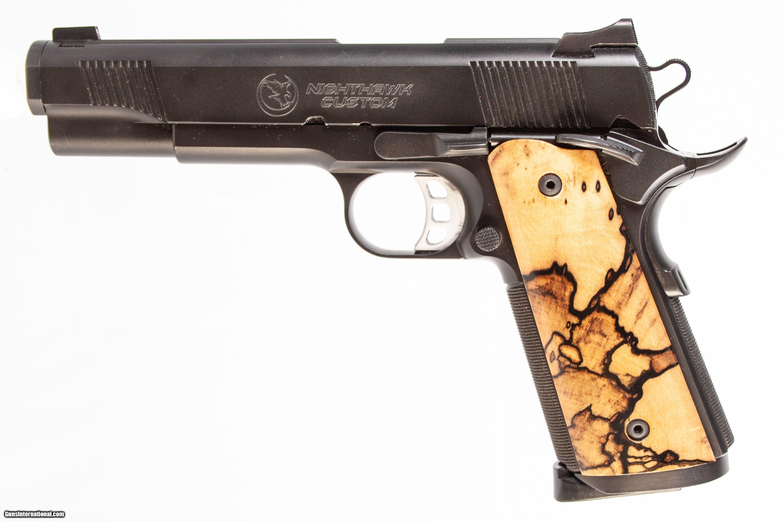 NIGHTHAWK PREDATOR 1911 45 ACP USED GUN INV 225470 for sale