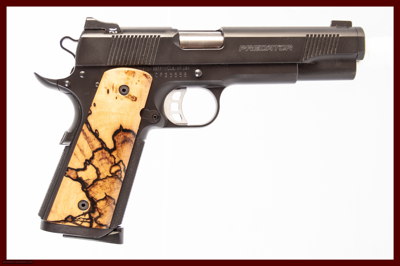 NIGHTHAWK PREDATOR 1911 45 ACP USED GUN INV 225470   Durys Guns