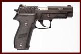 SIG SAUER P226 22 LR USED GUN INV 226606