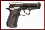 BERETTA 84FS CHEETAH 380 ACP USED GUN INV 226624 - 1 of 1