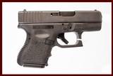 GLOCK 39 45 GAP USED GUN INV161605 - 1 of 1