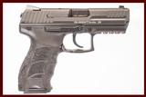 HK P30 9MM NEW GUN INV 226813