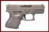 GLOCK 39 45 GAP USED GUN INV 227618